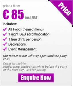 US theme party package